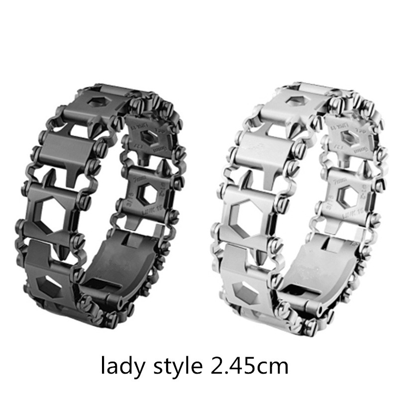 New Wearable Tread 2 45cm 29 In 1 Multi function Tool Bracelet Strap Multi function Screwdriver