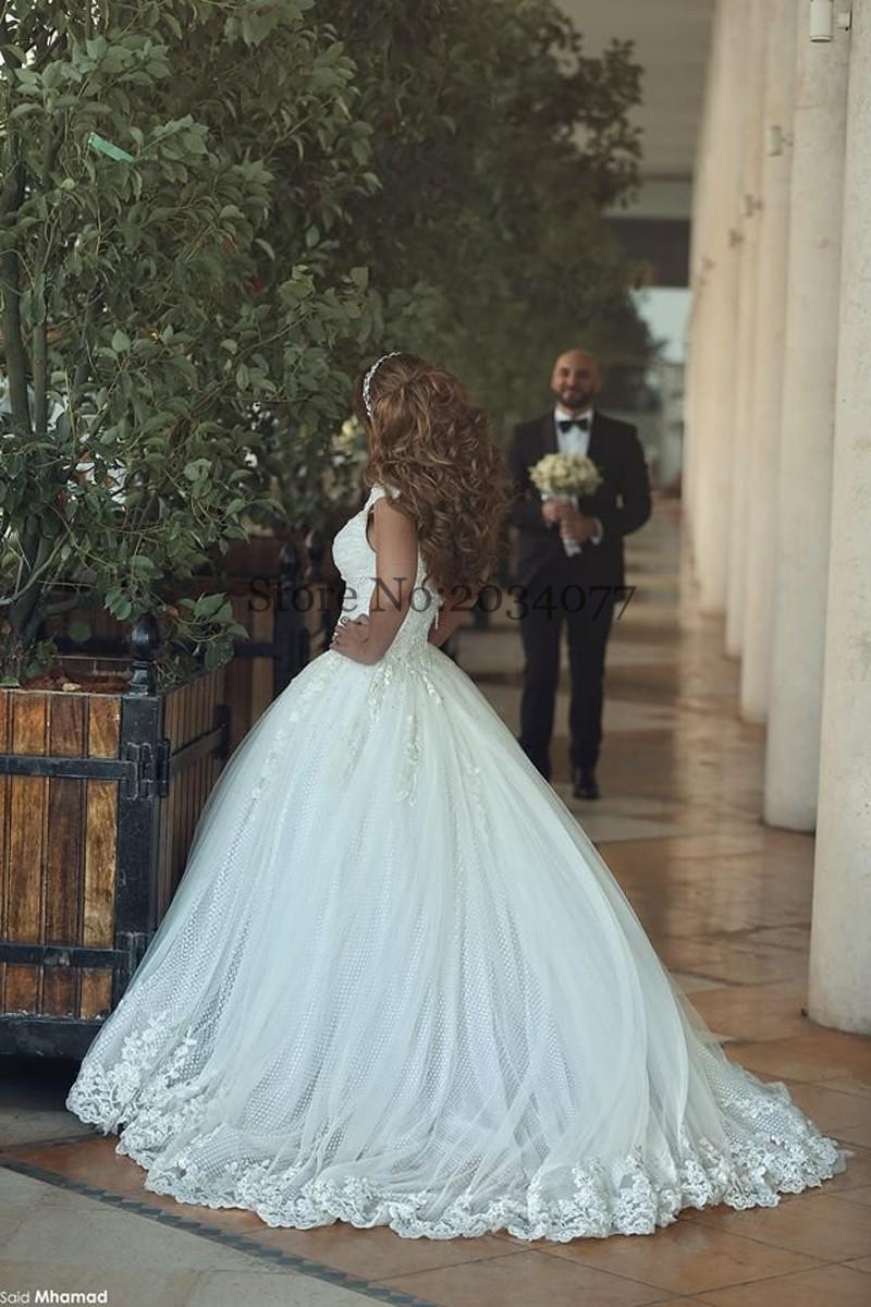 Custom Made Vintage Wedding Dress 2017 60cm Tail Country Western ...