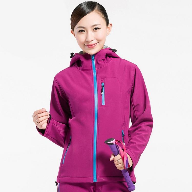 Camping en plein air randonnée femme vestes polaire Softshell imperméable femmes coupe-vent Trekking Ski Sport veste,