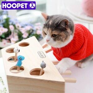 Image 2 - HOOPET Katze Interaktive Haustier Katze Spielzeug Spielen Fangen Spielzeug Spielen Übung Spielzeug Pet Produkte