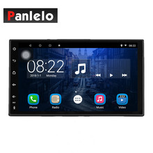Panlelo Universal 1 Din Car Radio Stereo Android 8.1 GPS Navigation 7 Inch Touch Screen Audio Output Octa Core Mirror Link joying 10 1 touch screen 2 din android 8 0 car radio px5 octa core 2gb 32gb gps navigation video out stereo audio fm am wifi