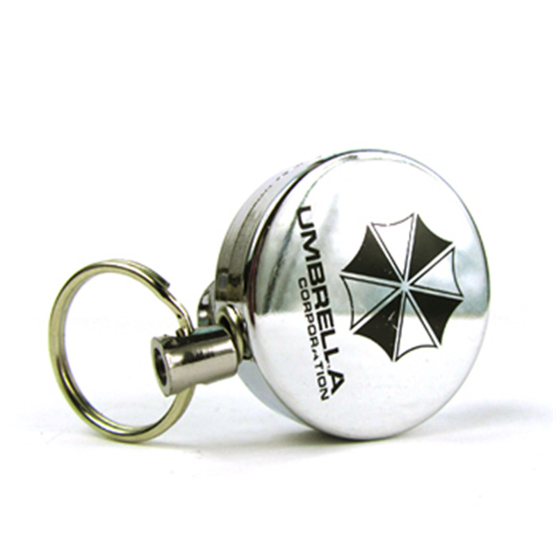 Hot New 1pcs Retractable Pull Badge Reel Zinc Alloy Metal Silver ID Lanyard Name Tag Card Holder Reels Key Ring Chain Clips sitemap 103 xml