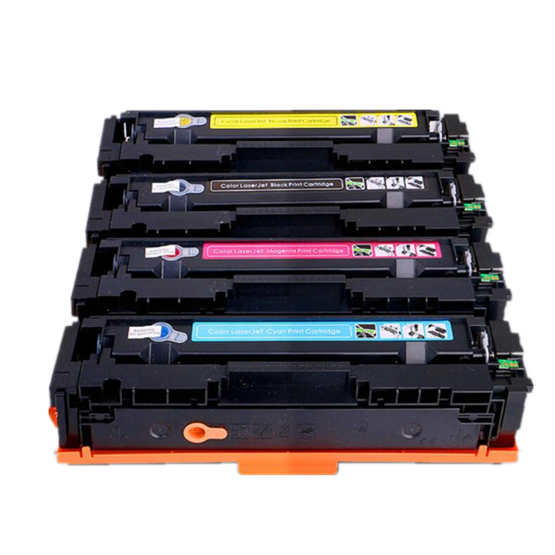 Free shipping 201 201A Compatible toner cartridge For HP Color Laserjet Pro M252dwm M277dw for CF400A CF401A CF402A CF403A