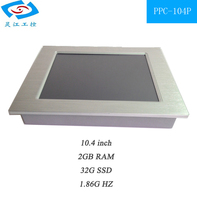10 Inch Touch Screen Industrial Panel PC All In One PC Best Computer Monitor