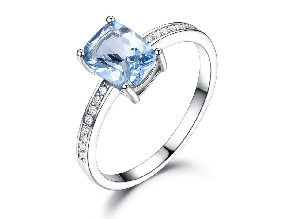 Honyy Sky blue topaz silver sterling jewelry sets for women EUJ054B-1-pc (3)