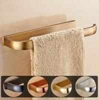 Towel Ring Towel Bar Lavatory Towel Rack Holder Solid Brass Black/Chrome/Gold/Rose Golden/Antique Bathroom Accessories