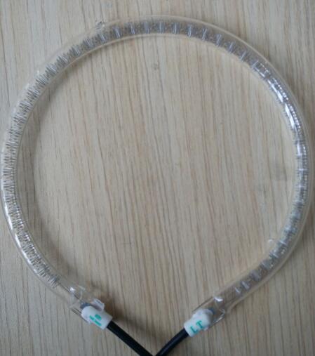 220-240V 1300W Halogen Oven Heating Tube Round Shape 14cm Diameter 1cm Tube