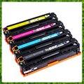 Compatible Color Toner Cartridge 128A CE320A CE321A CE322A CE323A для HP LaserJet CP1525N 1525NW CM1415FN 1415FNW Laser Printer