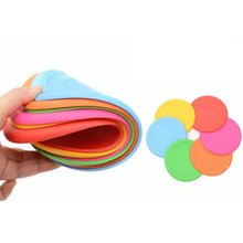 Мягкий силиконовый диск безопасности летающая тарелка Веселые уличные игрушки для собак Удобный спортивный диск для домашних животных