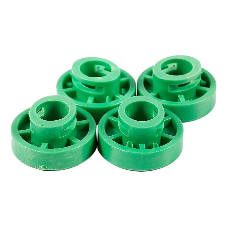 5Pcs Green Clips Front Door Power Window Regulator Roller Clip For Volvo Saab