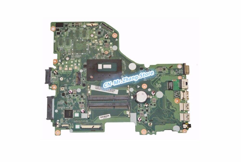 SHELI FOR font b Acer b font Aspire E5 573 Laptop Motherboard W I5 5200U CPU