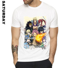 Characters in Action Fairy Tail Tee