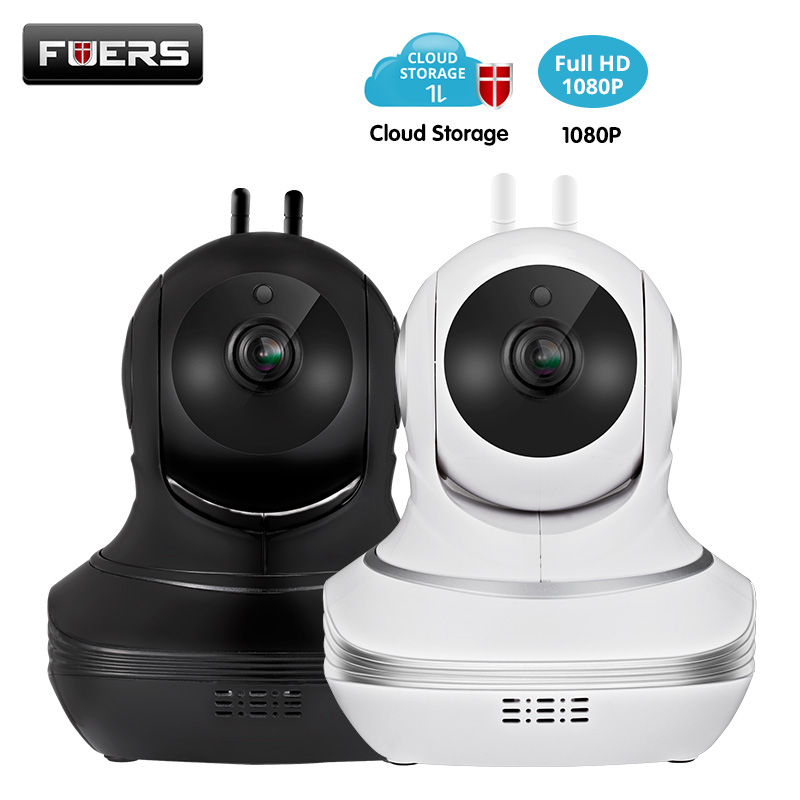 Fuers 1080P HD Wifi IP Camera Wireless CCTV Smart Home Security Cloud Storage Privacy Protection Burglar