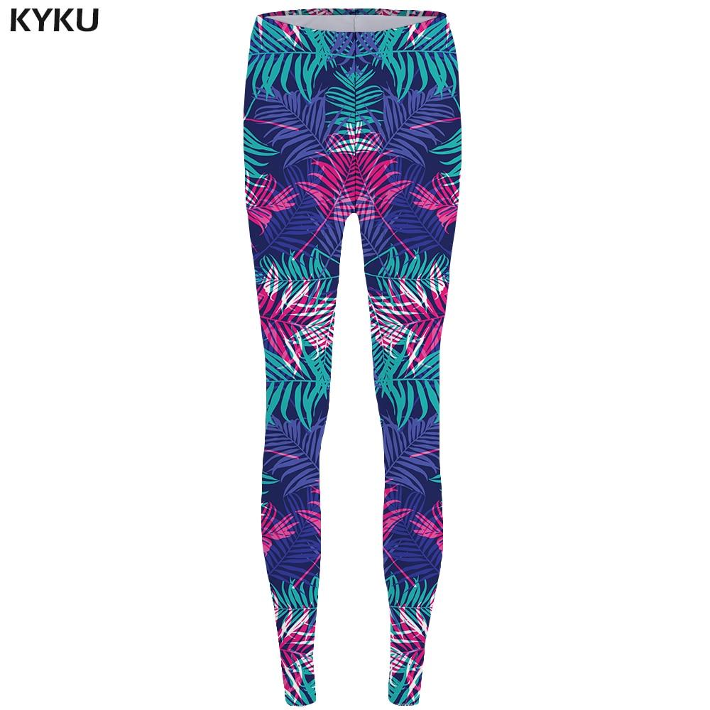 KYKU Weeds   Leggings   Leaf Sexy   Leggings   Fashion Print   Legging   Trousers for Leggins fitness Stretch Pants Women Spandex Funny