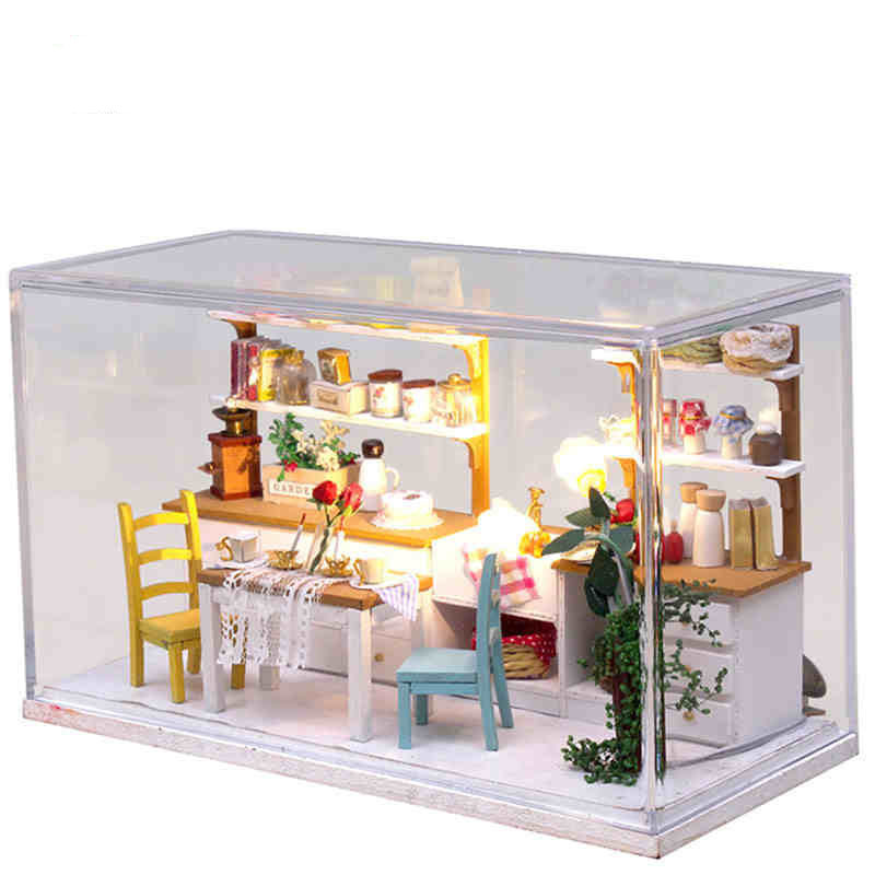 Buy Diy Doll House Model Building Kit