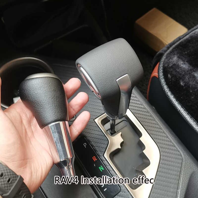 Pommeau de levier de vitesse automatique poignées de boîte de vitesses pour Toyota Alphard Corolla Ex AYGO Vios Highlander Terios Camry Rav4