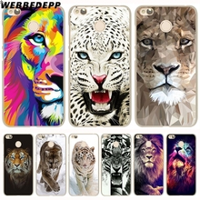 WEBBEDEPP tiger lion animal howl Phone Case for Xia