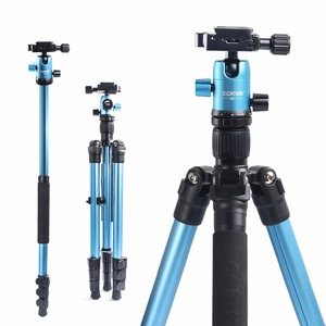 Image 3 - ZOMEI M3 Camera Tripod & Monopod Light Weight Travel Tripod with 360 Degree Ball Head and Carry Bag for SLR DSLR Digital Camera