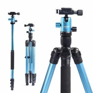 Image 3 - ZOMEI M3 كاميرا ترايبود و Monopod خفيفة الوزن السفر ترايبود مع 360 درجة الكرة رئيس و حقيبة حمل ل SLR DSLR كاميرا رقمية