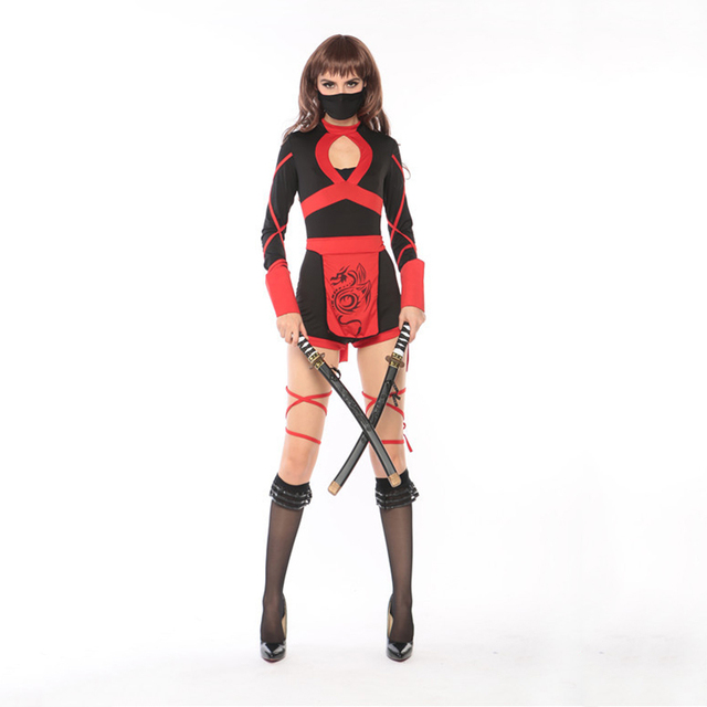 vashejiang women ninja costumes classic halloween costumes cosplay ninja costumes for women japanese cartoon fancy dress