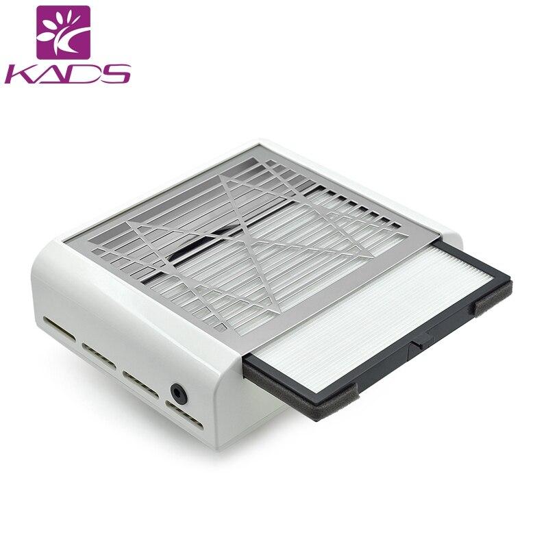KADS Новое поступление пылесборник для ногтей выдвижной фильтр маникюрный всасывающий станок акриловый УФ гель наконечник пылесборник для н...