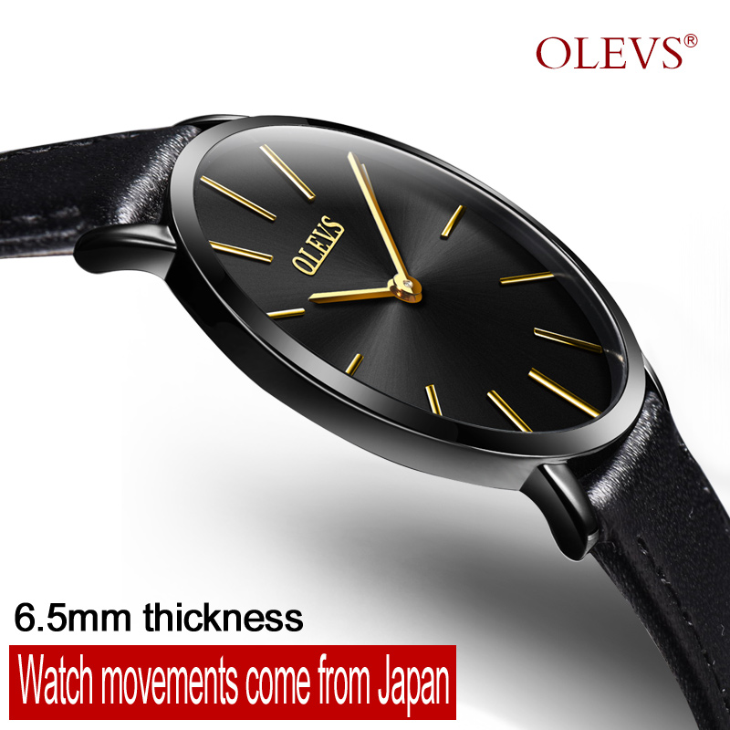 OLEVS Ультра тонкий Годинники Жіноча - Жіночі годинники
