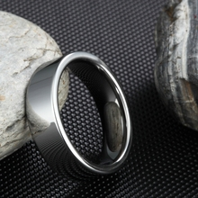 Fashion Black Plated Rings 6mm Wide Women Tungsten Wedding Jewelry Decent Carbide