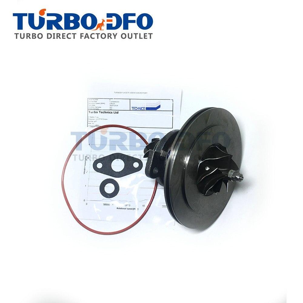 Noyau de turbocompresseur 54399700089 pour BMW 535 D E60/E61 286 HP 210 Kw 3.5D M57D30TU2-kit de réparation de turbine à cartouche 1657802587 CHRA