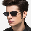 Aleación de aluminio Y Magnesio Hombres gafas de Sol Polarizadas Lente Eyewears Conductor Espejo Gafas de sol Masculinas gafas gafas de sol masculino 7755A