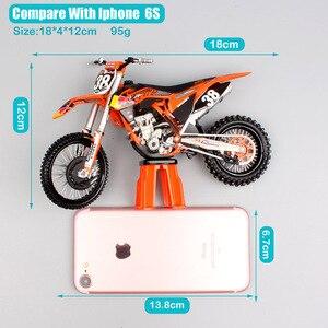 Image 4 - Motocicleta KTM 250 SXF red bull n. ° 38 modelo de Motocross, motocicleta de escala 1:12, motocicleta fundido a presión, modelo redbull, bicicleta de carreras, miniaturas de juguete