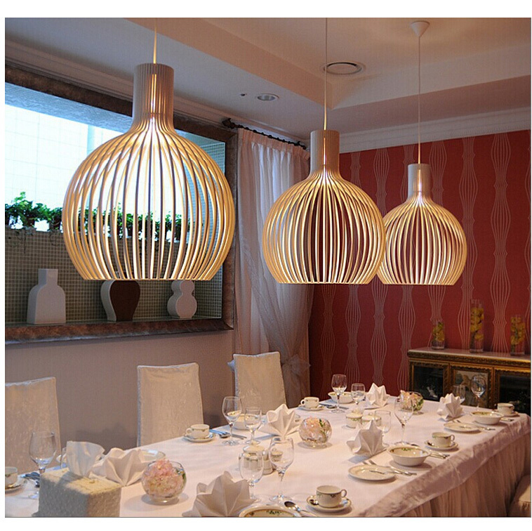 Birdcase Pendant Lights Modern Bar Light Restaurant Iron