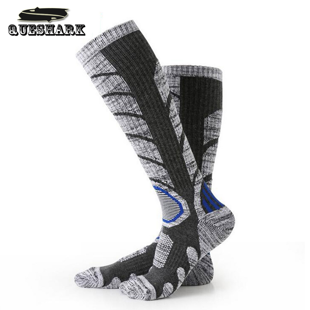 Winter Outdoor Sports Skiing Socks Breathable Cotton Hiking Snow Soccer Socks for Women Men