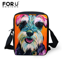 FORUDESIGNS Mini Schoolbag for Kids,Small Children 3D Animal