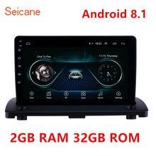"""Seicane 2GB RAM Android 8.1 Auto GPS Multimedia Speler voor Volvo XC90 2004 2005 2006 2007 2014 9 """"ondersteuning WIFI SWC Spiegel link"""