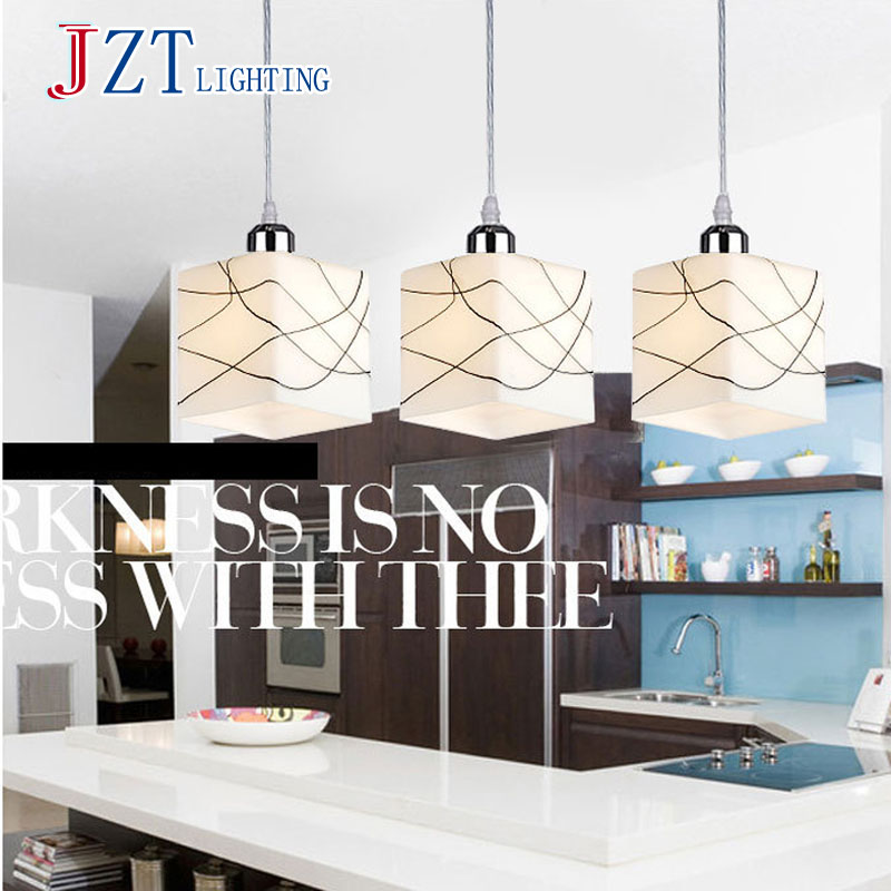 ФОТО T Simple Artistical Fashion Pendant Light For Dinging Room Home Indoor Lighting Modern Creative LED Chip Lamps Bar Coffee Shop