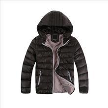 Children's Outerwear Kids Boy Girl Winter Warm Hooded Coat Children Cotton-Padded Clothes boy Down Jacket kid jackets 3-12 years