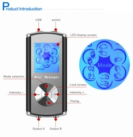 Mini massager EMS Electronic Muscle Stimulation low frequency Mini tens massager unit physical therapy pain releave