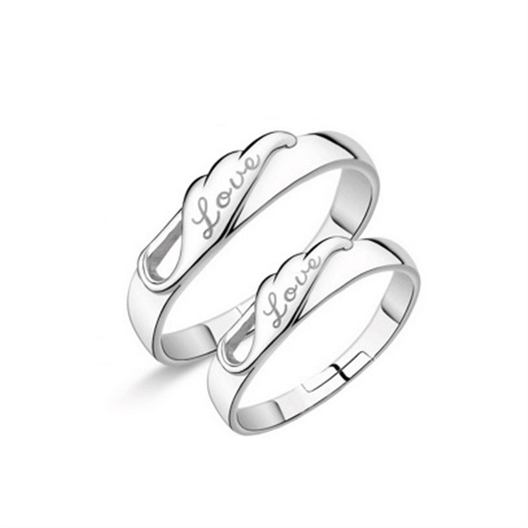 Eternity Wedding Bands For Couples Fashion Jewelry 925 Sterling Silver Lovers Promise Ring For Men Womens Couple Rings