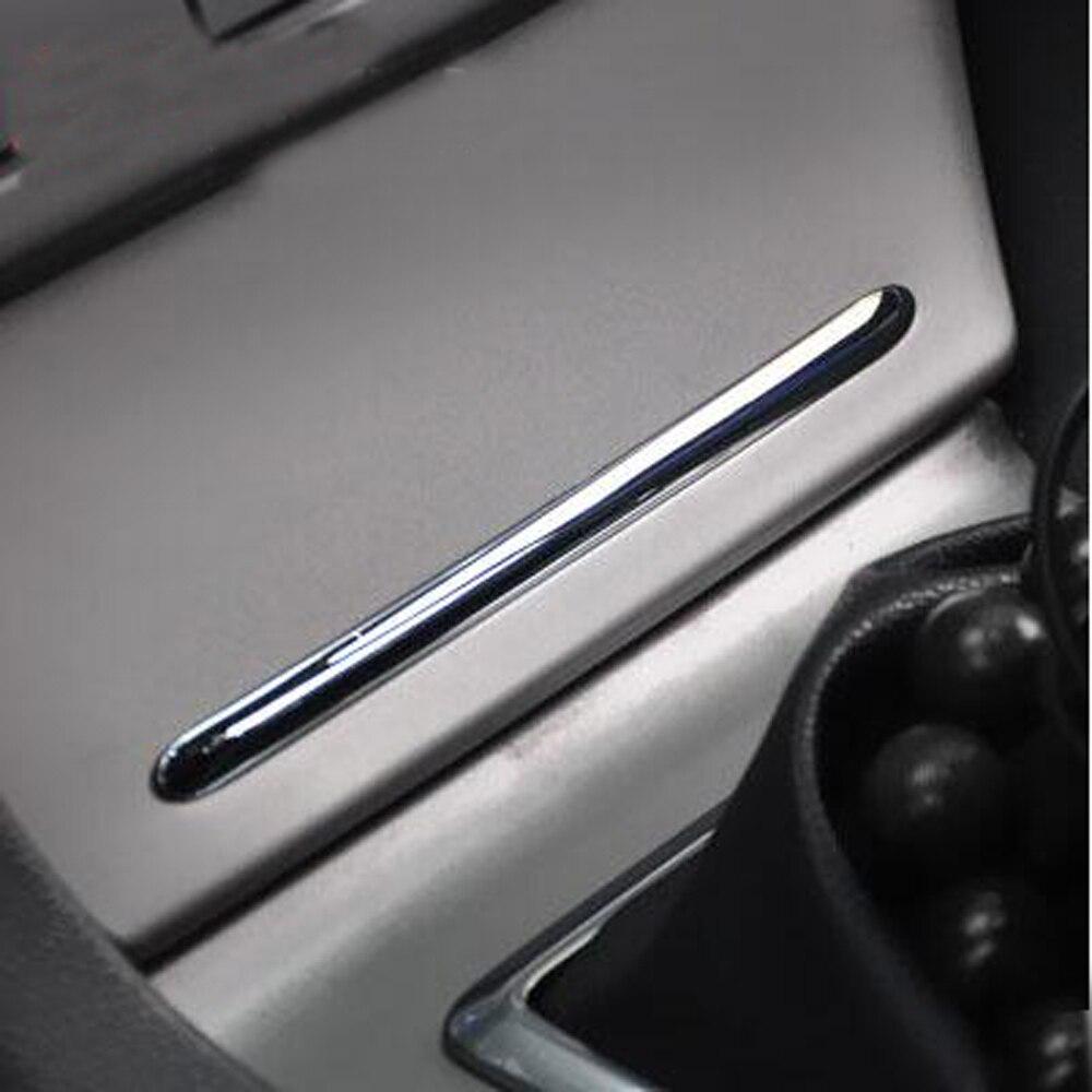 Для Ford Focus 2 MK2 2005 2013 ABS хромированная отделка Классическая пепельница лисы светильник вая балка refire пепельница Декоративная полоса decorative strip chrome trimchrome trim strip   АлиЭкспресс