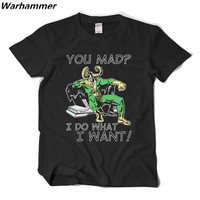 Camiseta Vingadores Loki Thor Louco Eu faço o que Eu quero mens verão hip-hop streetwear camiseta 3D anime homme t-shirt Livre grátis