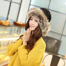 LOVIW vogue Winter Hat Women Warm Plus Velvet Dual Use Hats For Women Thicken Knitting Caps Ladies Winter Beanie Wool Hat