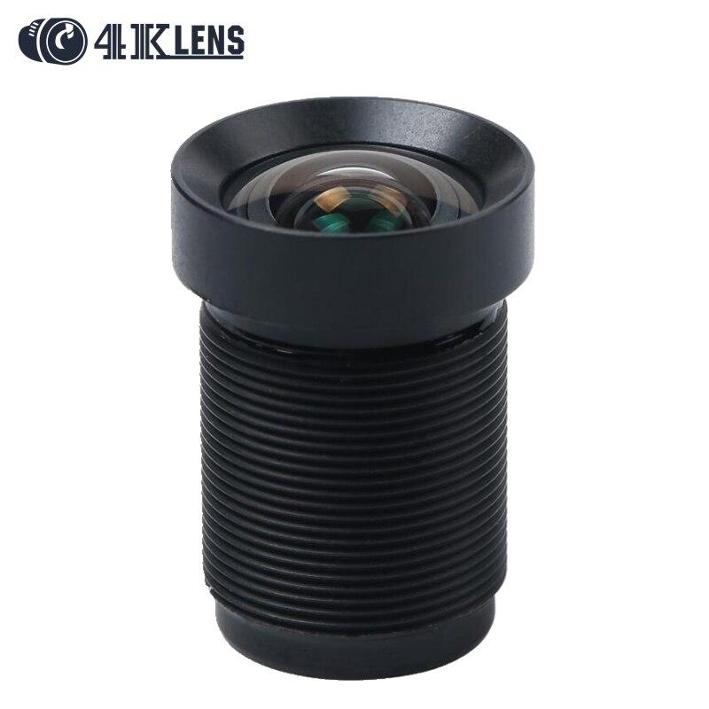 4.35 MM Lens 1/2. 3 Pollice con Anello di Polvere 10MP IR 72D HFOV NON Distorsione per Sporty Telecamere e Phantom 3/4 Droni Hot
