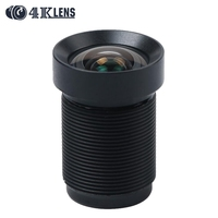 Factory 4 35MM Lens 1 2 3 Inch 10MP IR 72D HFOV NON Distortion For Gopro