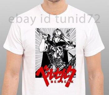 Loco Manga de agallas soldado camiseta anime hombres negro tamaño S-To-3Xl verano Manga corta Casual camiseta adulto