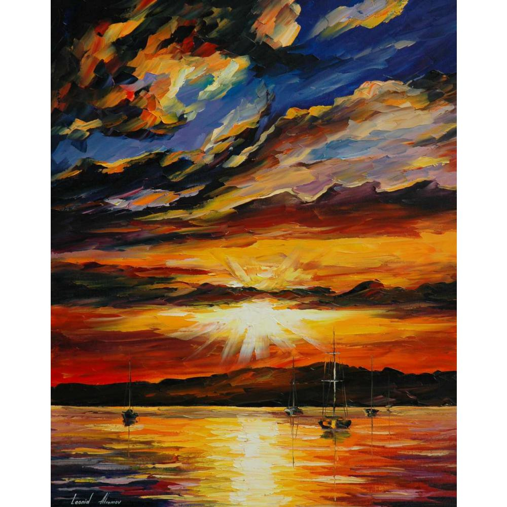 Aliexpress.com : Buy Printed Painting Landscape Sunset Of Emotions Canvas  Art Decor For Living Room Wall Pictures From Reliable Canvas Painting  Suppliers On ...