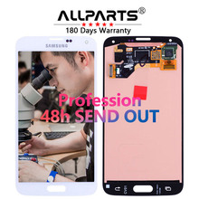 Оригинальный 5.1 »Super AMOLED ЖК-дисплей для Samsung Galaxy S5 ЖК-дисплей Дисплей i9600 G900 G900F G900M g900h sm-g900f Сенсорный экран планшета