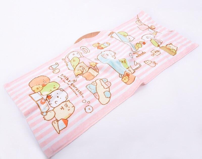 Neue Sumikko Gurashi Handtücher 100 Baumwolle Baby Taschentuch Kinder Geschenke Pflege Frottee Gedruckt Gesicht Handtuch Terry Microfibra Zakdoek