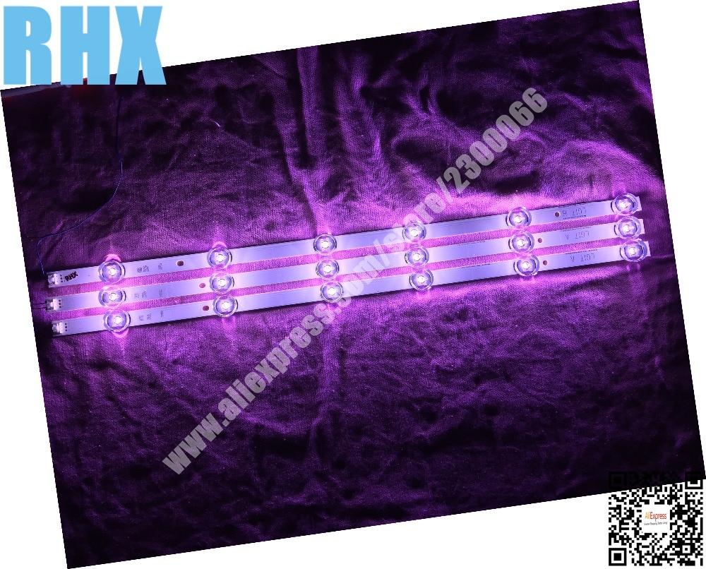 3piece/lot For LG Led Tv Backlight Full Array 6916l-1974A 1975A 32LF5800 32LF592U 32LF561U  6LED 2PCS A+1PCS B