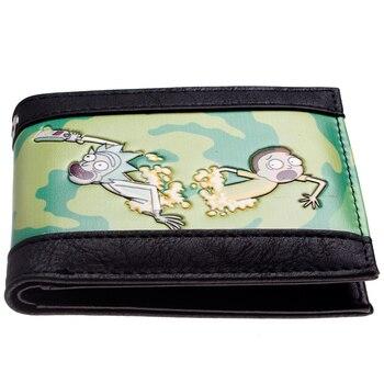 Бумажник Рик и морти Искусственная кожа 1