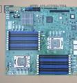 Usado, X58 Motherboard Servidor X5650 1366-pin Dual CPU Computador Estação de Trabalho, 100% testado bom